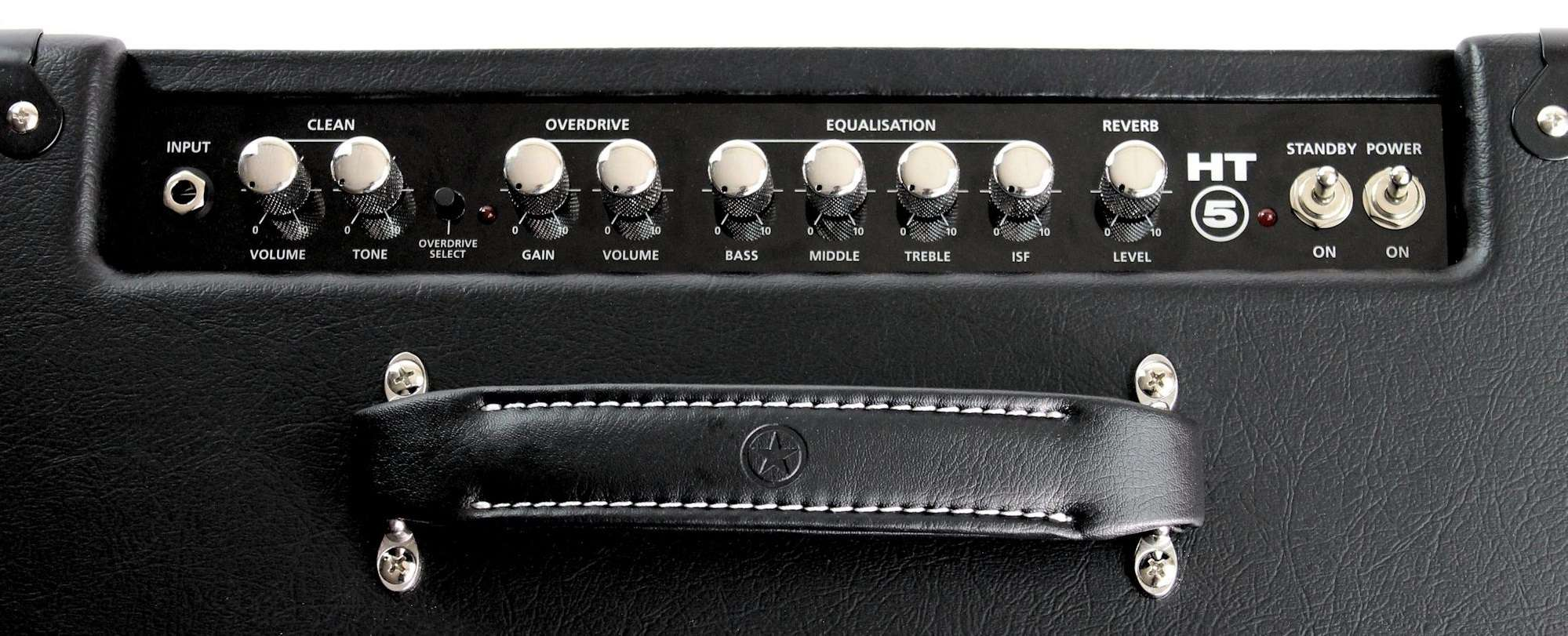 Blackstar HT-5R is powered by one 12AX7 preamp tube and one 12BH7 power tube.