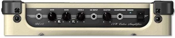 There are two channels, clean and overdrive, and a two-band EQ.