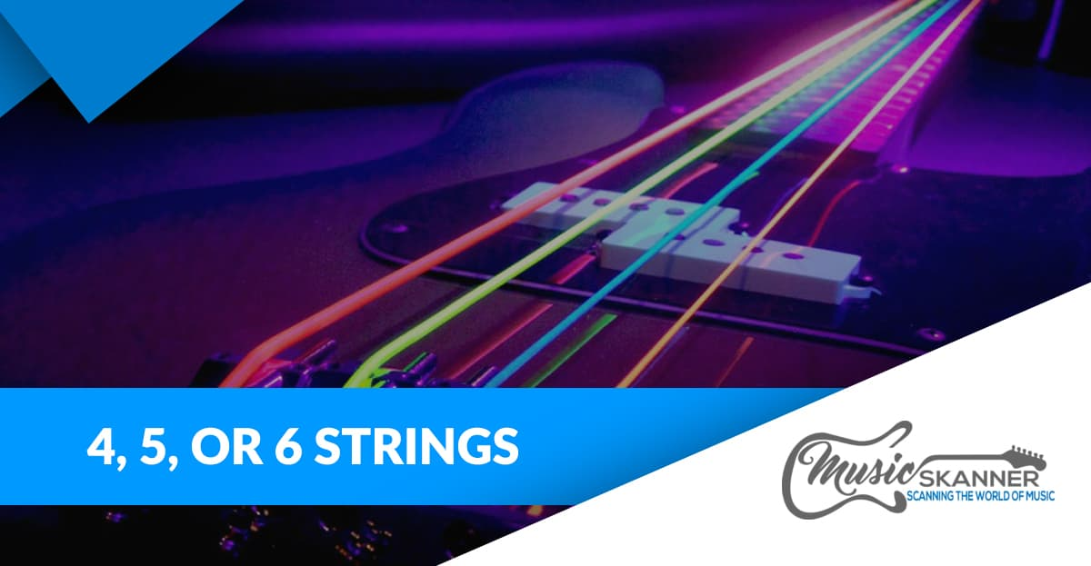 Choosing between 4, 5, or 6 String Bass