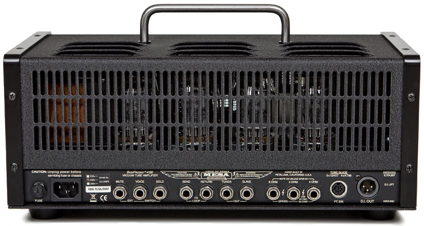 Mesa Boogie Bass Prodigy Four:88 from back