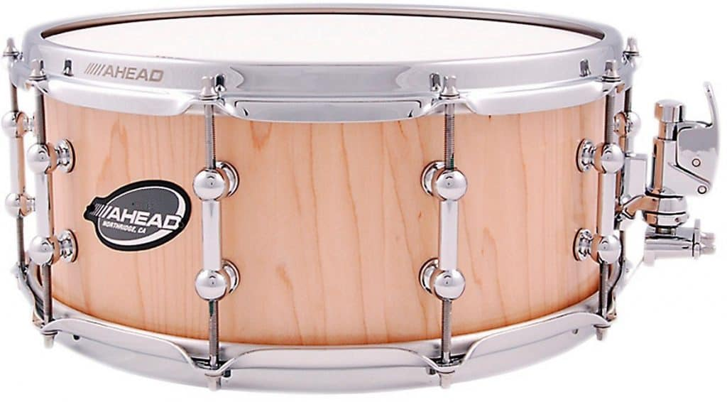 Ahead Maple Stave Snare Drum 14 x 6 in