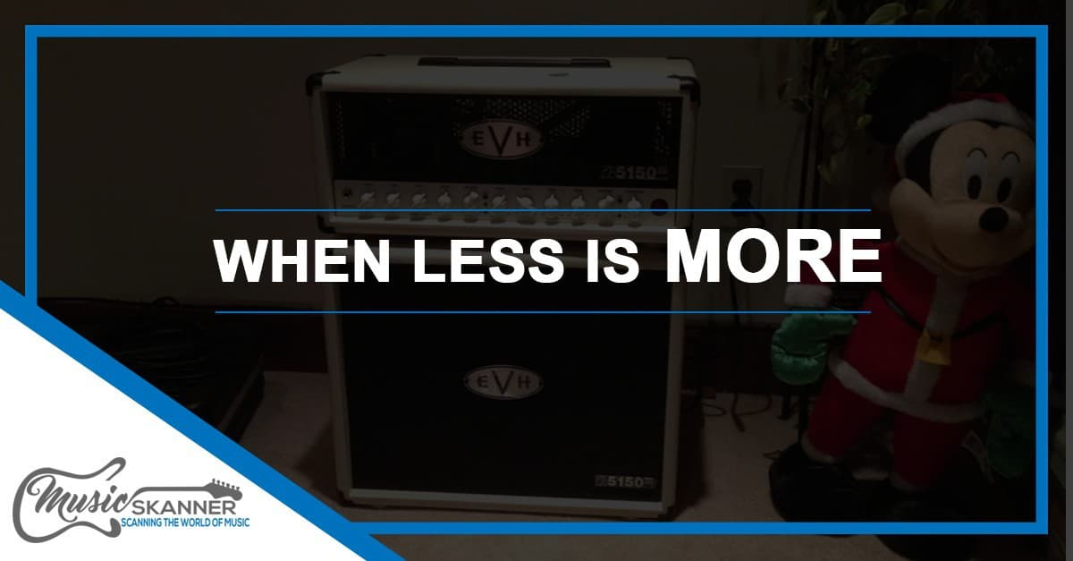 When less is More - metal combo amps introduction