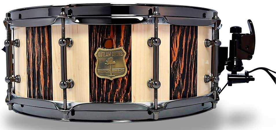 "OutlawDrums Douglas Fir 14"" x 6.5"""