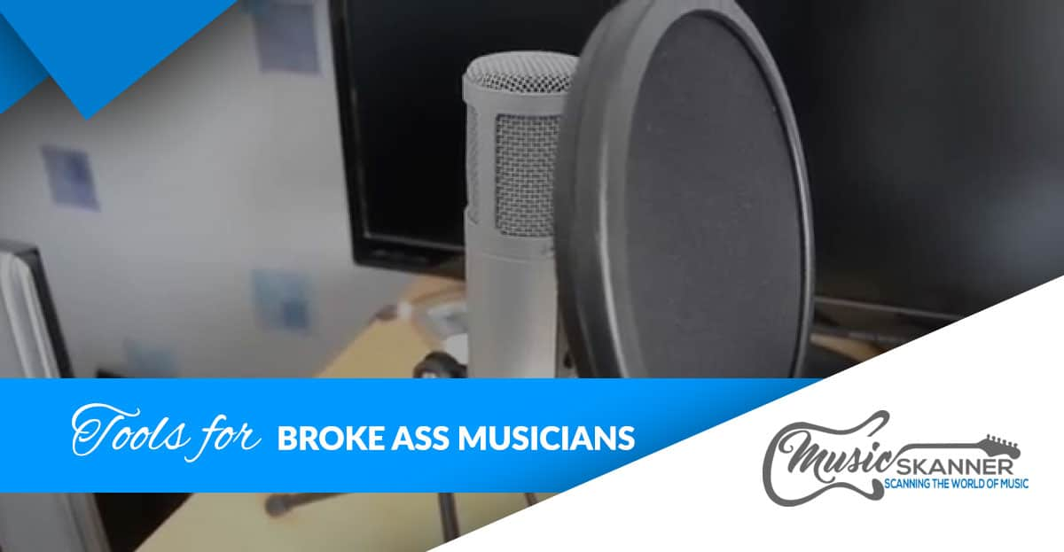 Tools for broke ass musicians