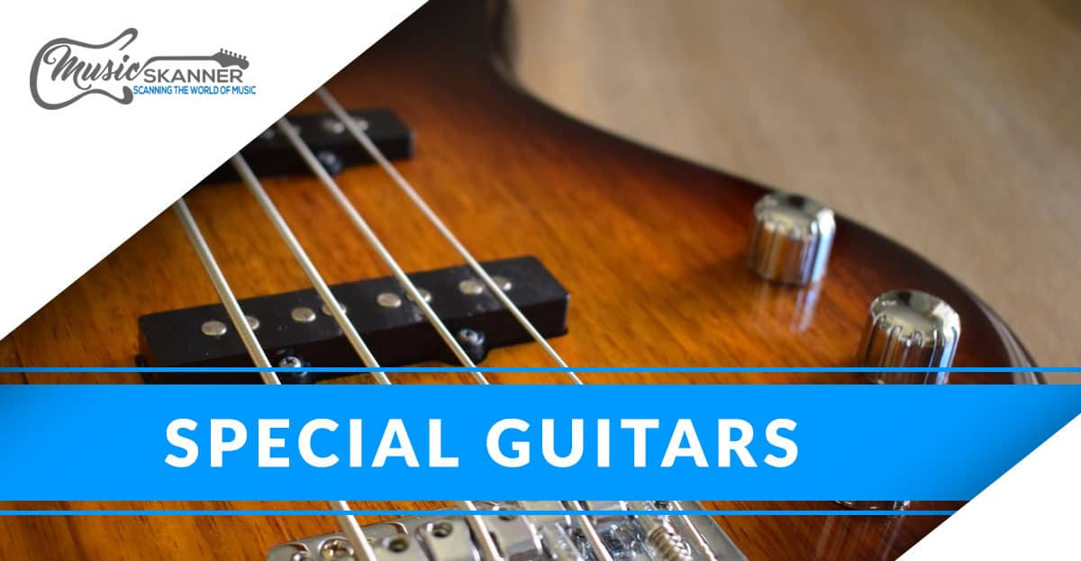 Special guitars: Acoustic Electric and Hollow Body
