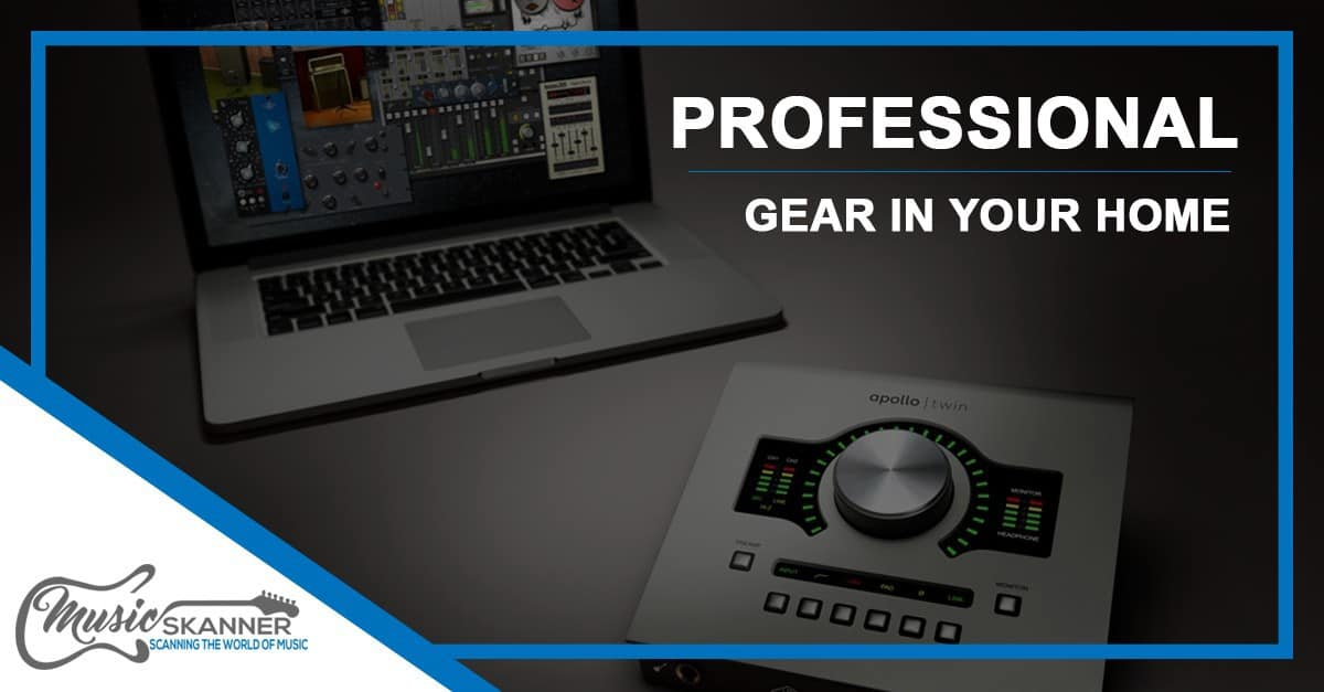 Professional gear in your home - Article intro