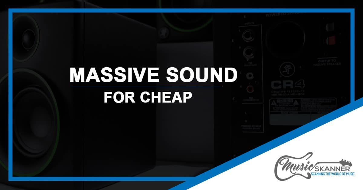 Under 100 - massive sound for cheap image