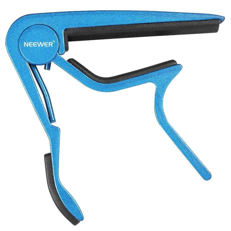 Neewer Blue Single-handed Guitar Capo