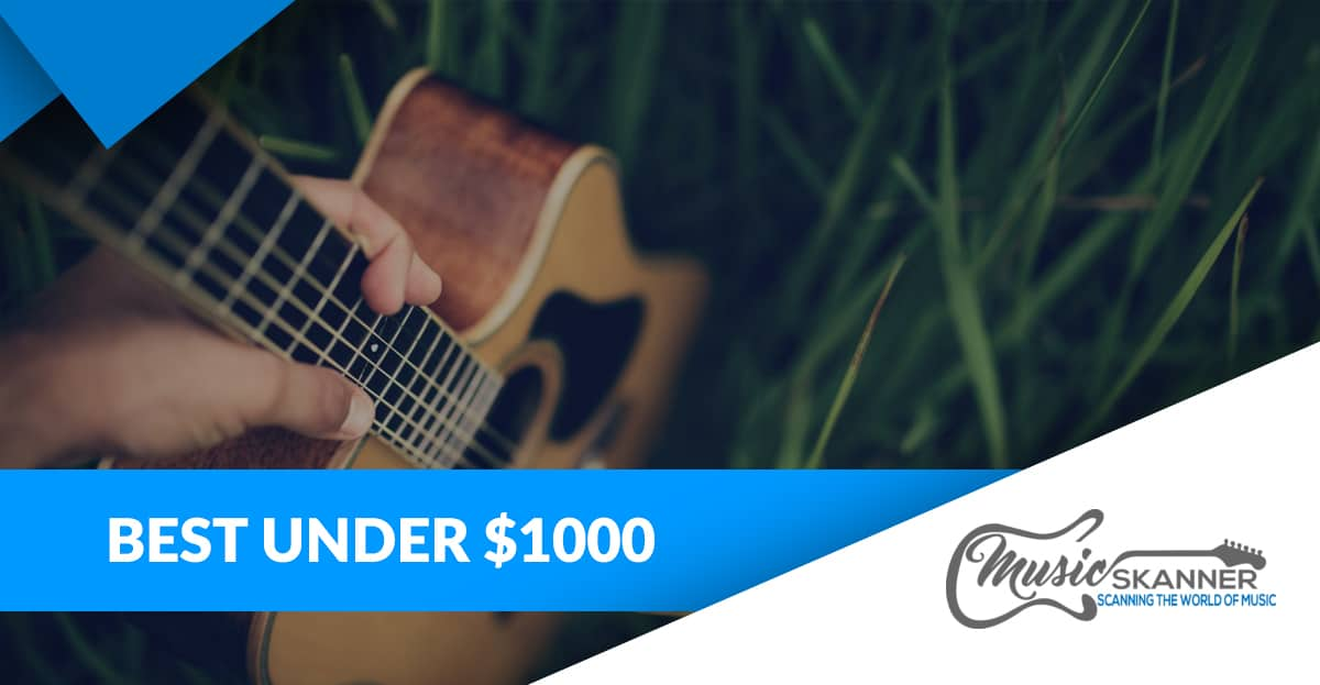 Introduction to under 1000 guitar selection