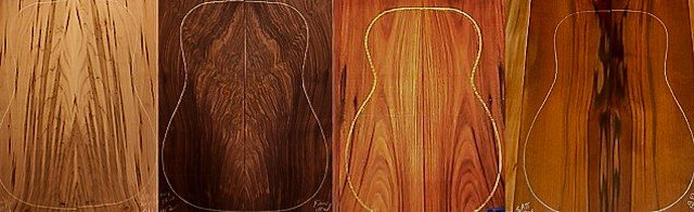 Different Tonewood