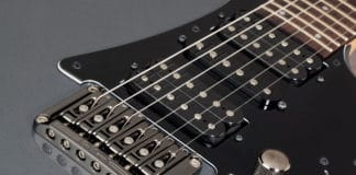 electric guitar bridge types fixed
