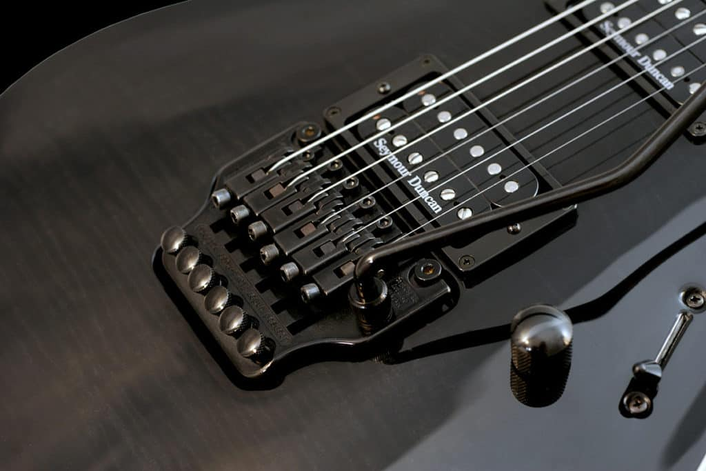 electric guitar bridge types floyd rose