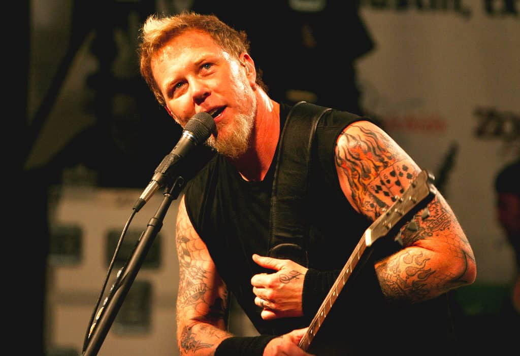 The 52 years old frontman of Metallica