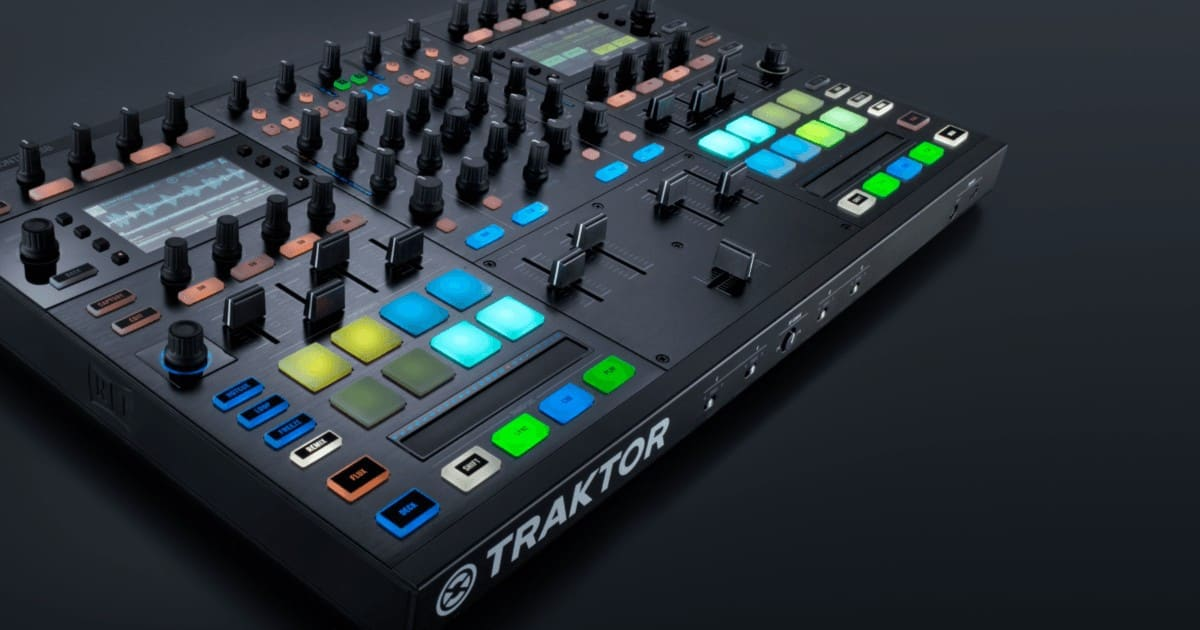 These controllers go by the name of Traktor