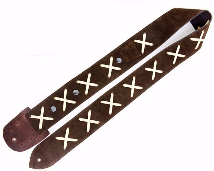 What makes this guitar strap so unique is the fact that it used to belong to Jimmy Hendrix.