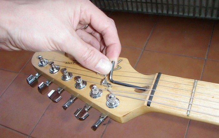 guitar neck adjustments tutorial