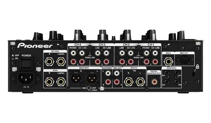 Pioneer DJM 850 is a Traktor compatible mixer.