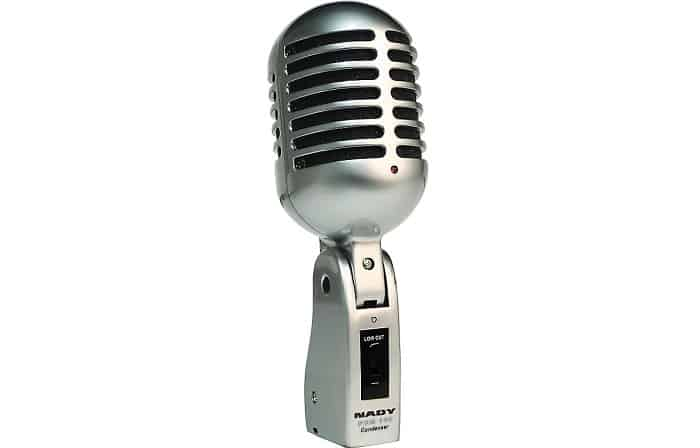 two types of condenser microphones