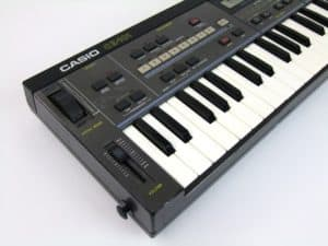Casio CZ101 is a miniature version of the CZ1000 that started the whole CZ lineup of synths