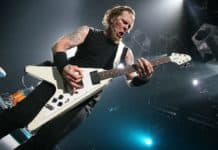 james hetfield flying v