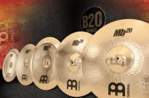 MB20 is one of the few Meinl series of cymbals that were designed with a specific genre of music in mind.