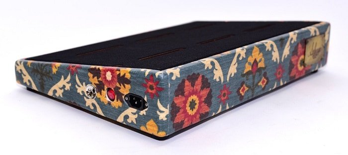 pedal board flower design