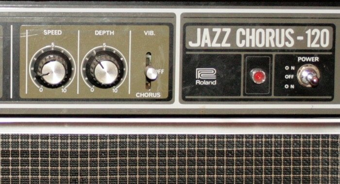 Jazz chorus 120: speed control and Depth control