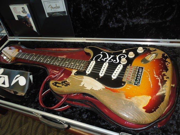 fender stevie ray vaughan stratocaster