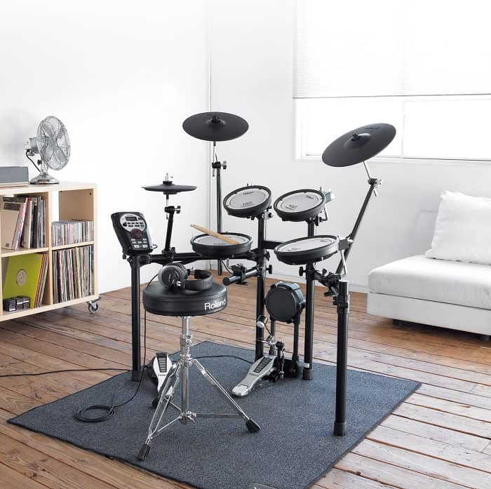 Roland is one of the first companies to get on the electronic drum kit train