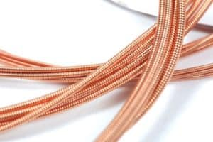 copper guitar strings