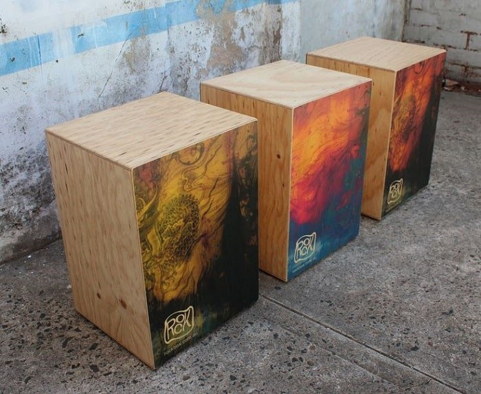 types of cajon drum