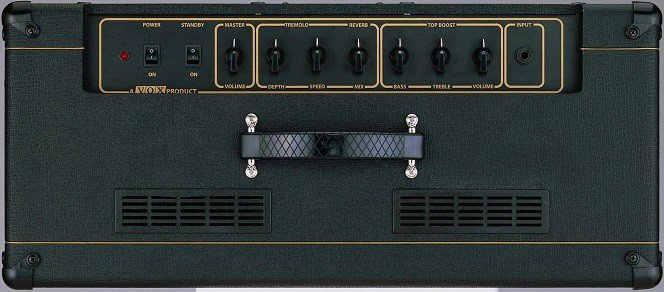 In terms of controls there are two main clusters on top of the amp.