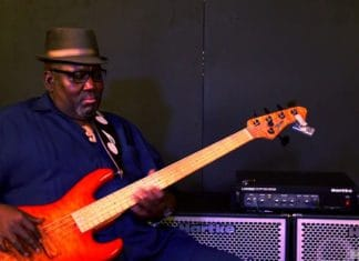 whi is stevie wonder bass player