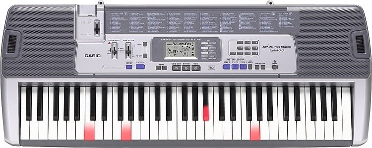 We are talking about the Casio LK 100 - a great little keyboard
