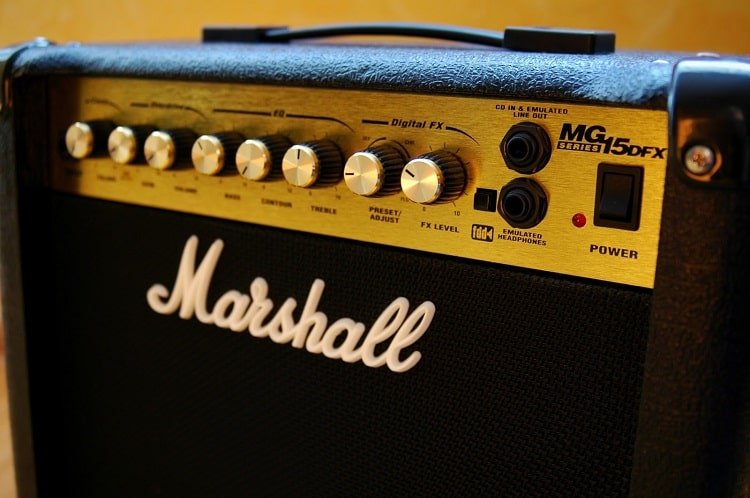 marshall amp mg15dfx