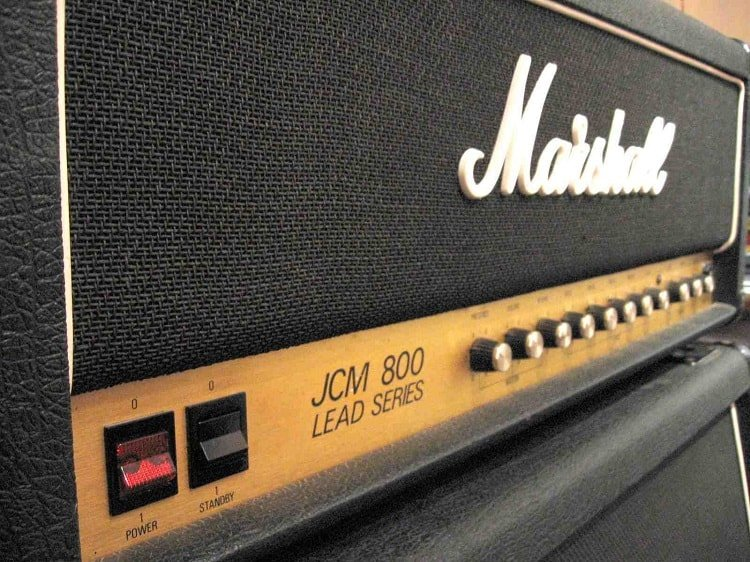 Jcm 800 model Lead Series - Marshall Logo