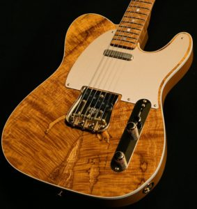 spalted maple telecaster limited edition