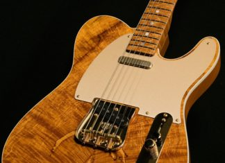 spalted maple telecaster