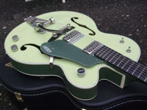 Gretsch decided to go back to their roots, and reinvent the good old semi hollow design