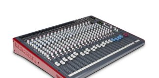 allen and heath 24 channel mixer