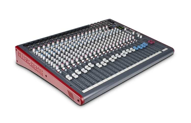 A brief review of Allen and Heath 24 channel mixer
