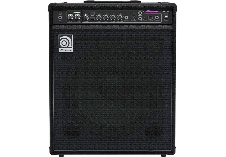 One combo we found particularly interesting is the Ampeg BA115V2