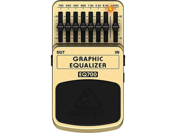 Popular type of EQ interface