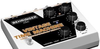 behringer vintage time machine review