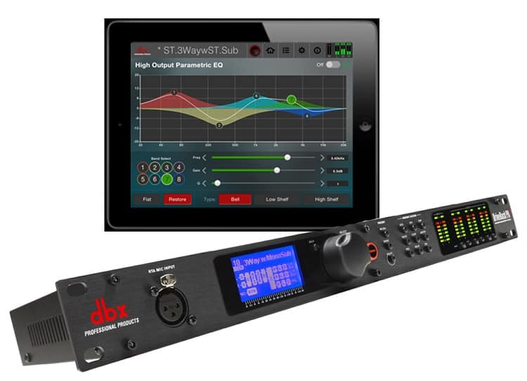 DriveRack PA2 speaker management system from Dbx