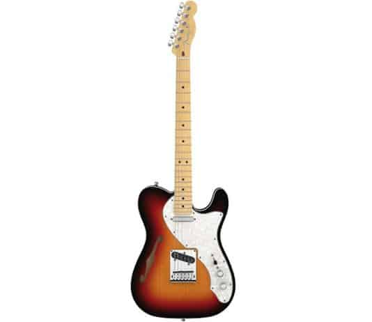 fender american deluxe telecaster thinline guitar review