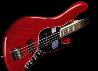 fender jazz bass red