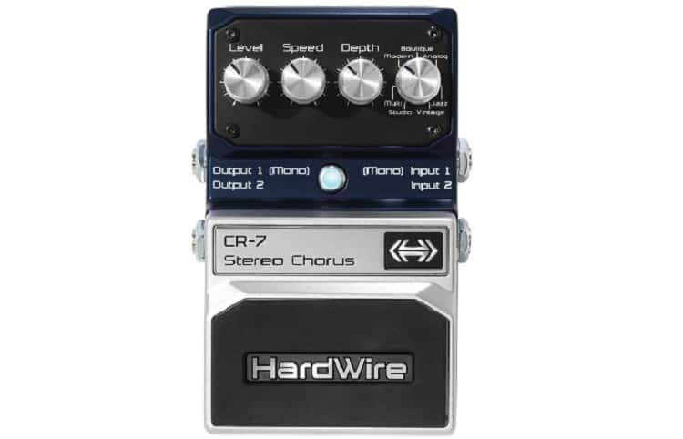 DigiTech squeezed in seven different modes for you to choose from