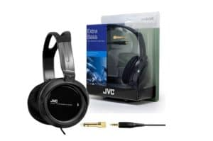 there are decent affordable headphones. One such model is the JVC HA-RX300