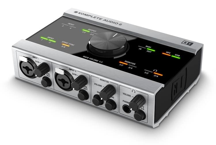 Komplete Audio 6 Interface from Native Instruments is definitely in the top 5 products